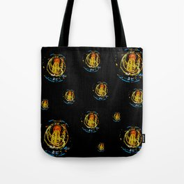 The Electric Current:  Filament Lights Tote Bag
