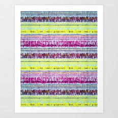 rhythm 2.4 Art Print