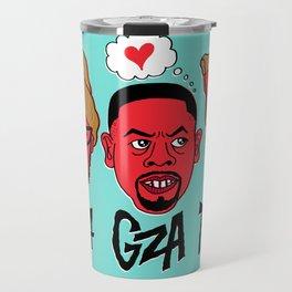 RZA, GZA, PIZZA Travel Mug
