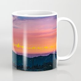 Los Angeles Sunset Coffee Mug