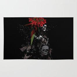 Skull Woman Rug