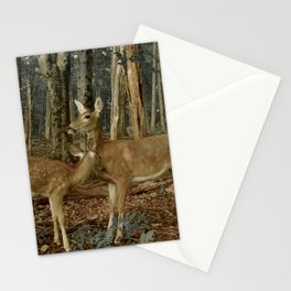 Deer in the Forest of Ardennes Stationery Cards