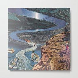 River Ridin' Metal Print