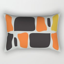 Abstract Graphic Spicy Puzzle Rectangular Pillow