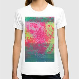 Neon Abstract 10 T-shirt