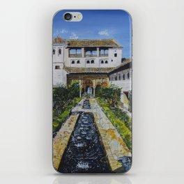 Palacio de Generalife iPhone Skin