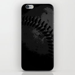 Baseball Illusion iPhone Skin