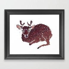 oh my deer Framed Art Print