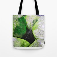 moss Tote Bags featuring Moss by Darkest Devotion