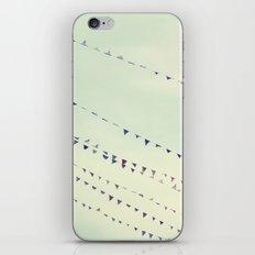 pennants iPhone & iPod Skin