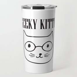 Geeky Kitty Travel Mug