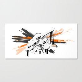 """EX"" Canvas Print"