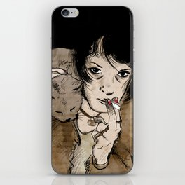 Crazy Mary iPhone Skin