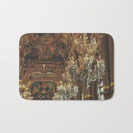 Palais Garnier Chandeliers Bath Mat
