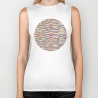 candy Biker Tanks featuring Candy by Pom Graphic Design