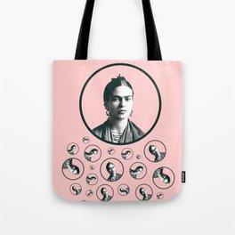 Frida Kahlo design Tote Bag