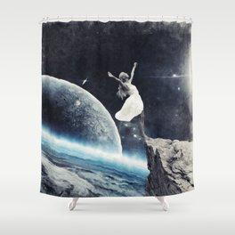 leap of faith Shower Curtain