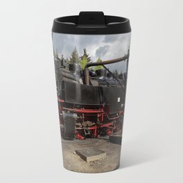 Steam train for water refueling Travel Mug