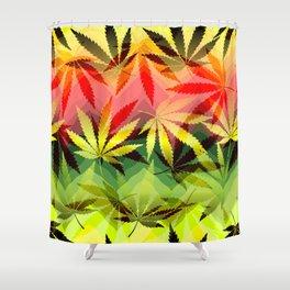 Marijuana Shower Curtain