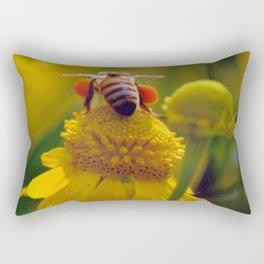 Bee Buzzy Rectangular Pillow