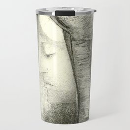 "Odilon Redon ""Profile of Light (Profil de lumière)"" Travel Mug"