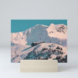 Mt. Alyeska Ski Resort - Alaska Mini Art Print