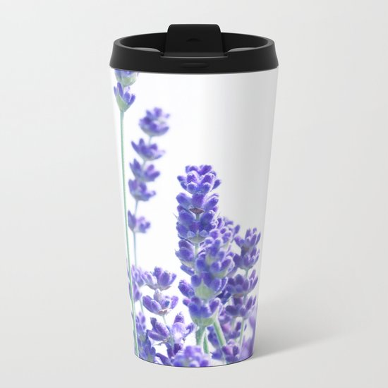Fresh Lavender #1 #decor #art #society6 Metal Travel Mug