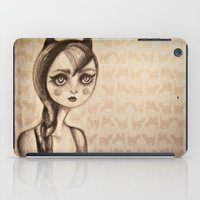 catwoman iPad Cases featuring Catwoman by Anna Kavehmehr