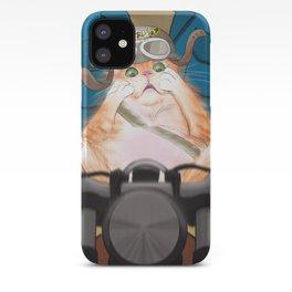 Biker Cat iPhone Case