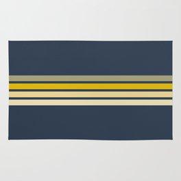 Racing Retro Stripes Rug