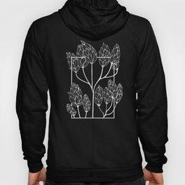Leaf-like Sumac in Grey Hoody
