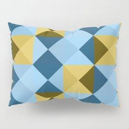 Minimal Geometric Picnic Oni Pillow Sham