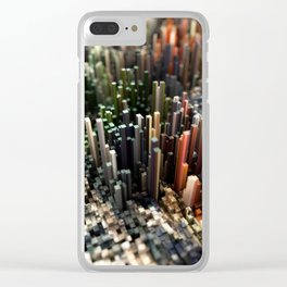 Abstract Topography - Vienna Clear iPhone Case