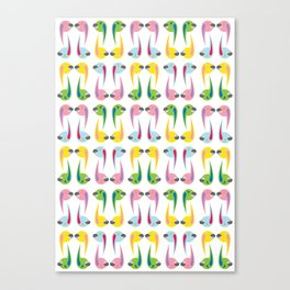 comma Canvas Print