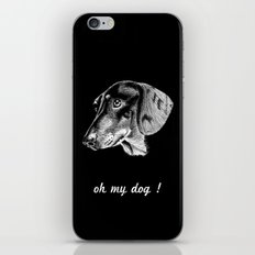 oh my dog ! iPhone & iPod Skin