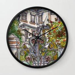 House on Vasco Da Gama Wall Clock