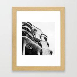 La Pedrera Framed Art Print