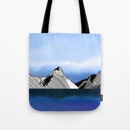 Mitre Peak Tote Bag