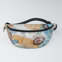 Light of Your Own Being Watercolor Fanny Pack