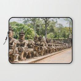 Angkor Thom South Gate Devas, Siem Reap, Cambodia Laptop Sleeve