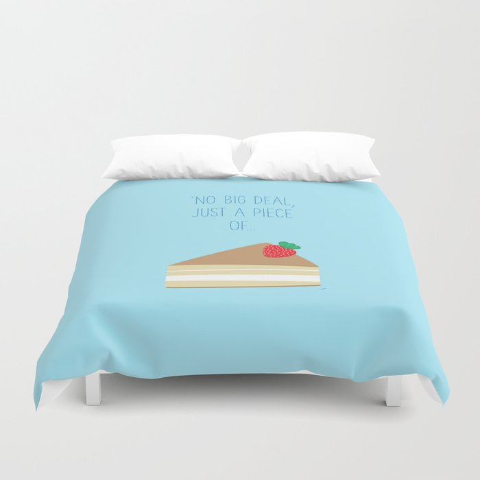 'Just piece of cake!' Duvet Cover