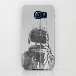 The Space Beyond B&W Astronaut iPhone Case