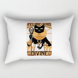 Feline Divine - Bastet Rectangular Pillow