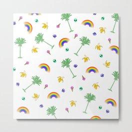 1970s Rainbow Classic Metal Print