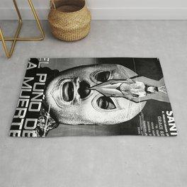 El Santo: The Fist of Death (El Puño de la Muerte), 1982 Rug