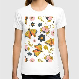 Pattern Insects and Nature T-shirt