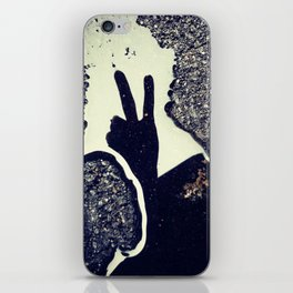 peace. iPhone Skin