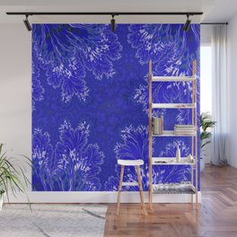 BluFan Filigree Wall Mural