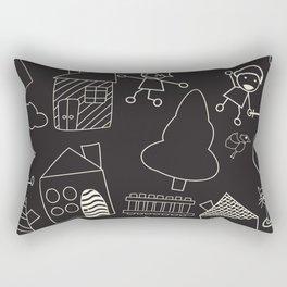 Child like pattern Rectangular Pillow