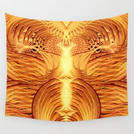 Pheonix Fire Temple Wall Tapestry
